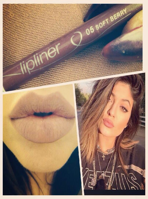 essence make-up range is so cheap and have a great election on all there items.this particular won worn by Kyle Jenner has a grunge/rock feel to it.the pencil is  worn all over the lip then lightly covered by translucent powder for a matte finish