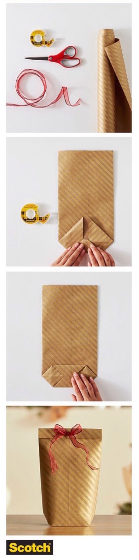 10.Learnthis 4-step foldfor wrapping any box neatly so you aren't making everything up as you go.Although of course it's the thought that counts, not the neatness of your ends. Get more details on exactly how this works HERE  http://kidsactivitiesblog.com/854/how-to-wrap-a-present