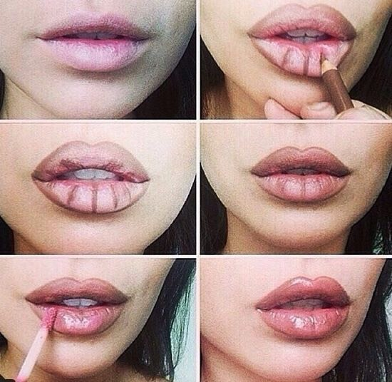 Lastly, if you want to step it up a little more, you can use lip contouring to give it a maximum plump. Be sure to use light lipgloss colors like, pink, nude, and clear. And stay away from matte lipstick for best results. Good luck and thanks for viewing, you'll find all of the products in my shop💋