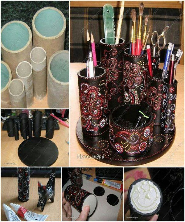 pvc pipe for makeup brushes by Angie AlenderAnderson - Musely