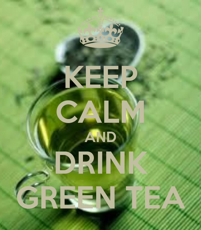 Green tea is very good for the skin. You can drink it hot or cold or use the tea bags by applying them to the face for a few minutes.