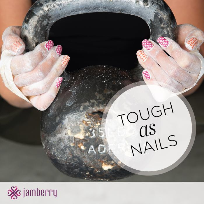 Jamberry nail wraps are very durable for all the activities in your day!