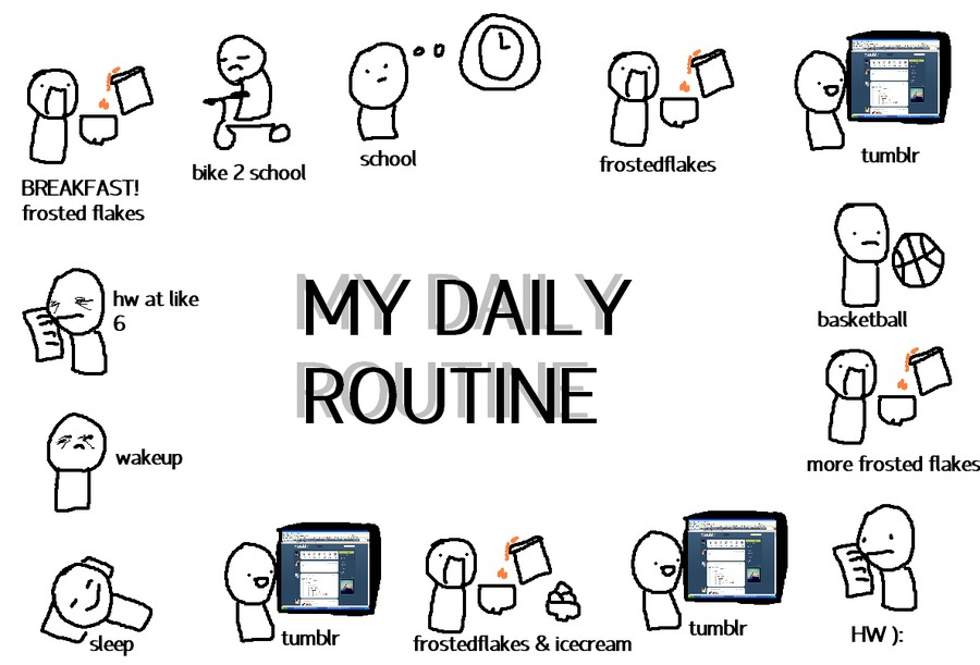 Make your goal apart of your daily routine so that it becomes part of your lifestyle.