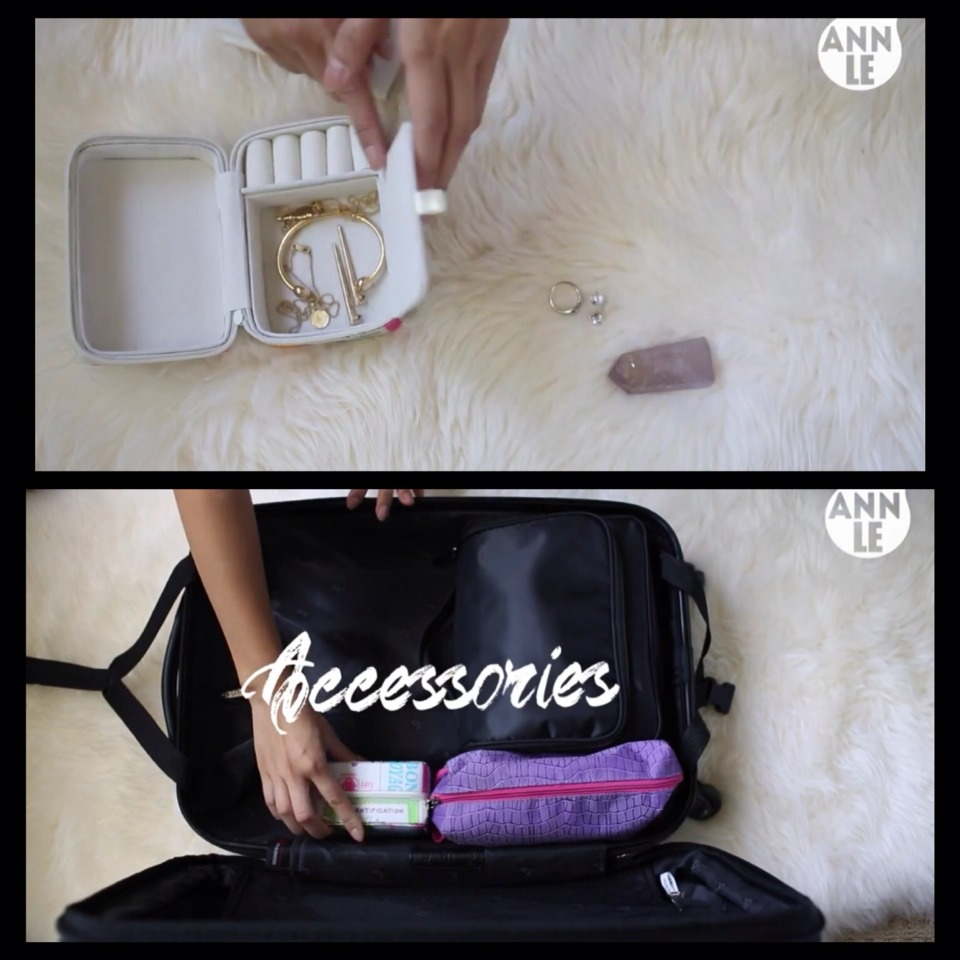 #3 Accessories in a small bag