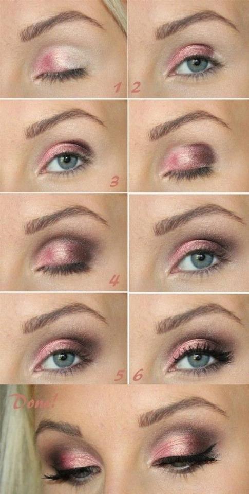 A beautiful pink smokey eye! 💗💗💗