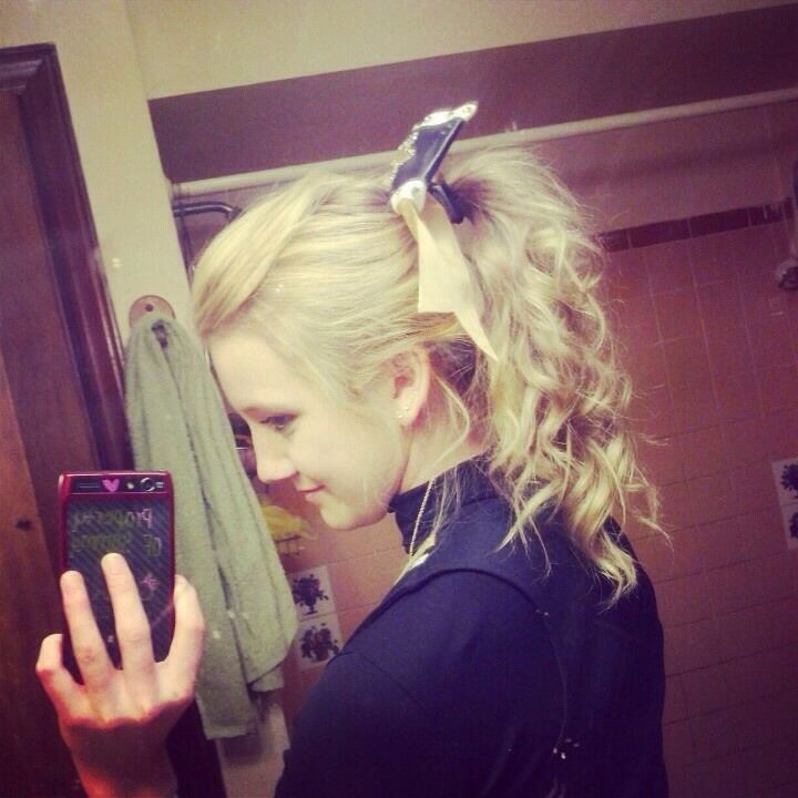 Cute Cheerleading Ponytails By Alaina Sayre Musely