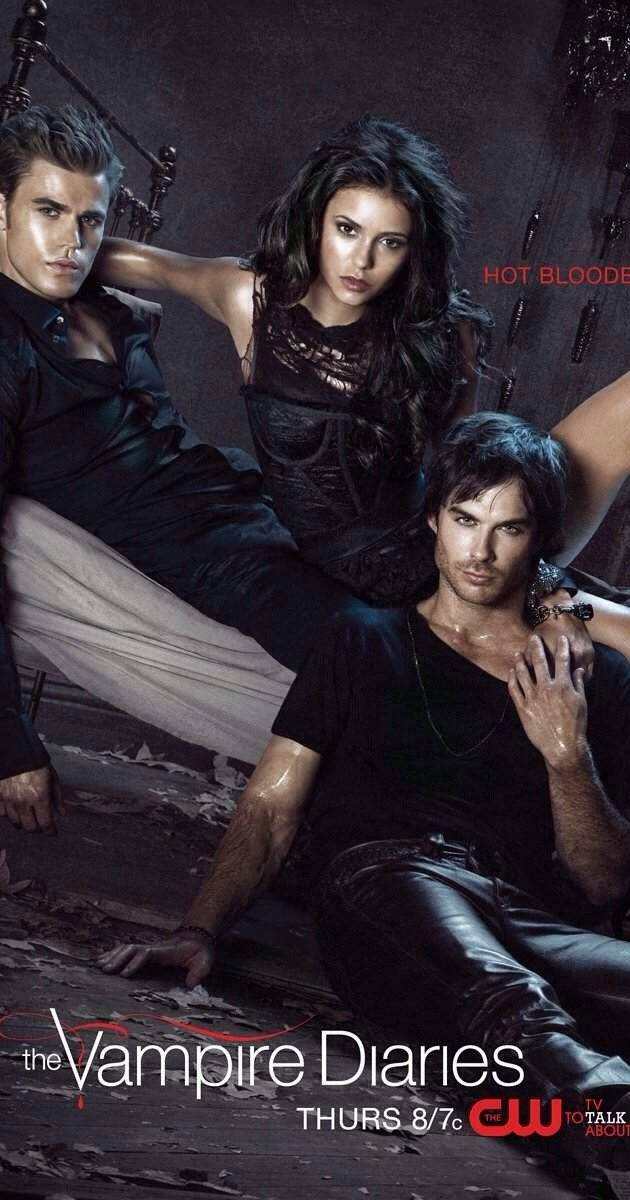 THE VAMPIRE DIARIES IS A MUST!!!
