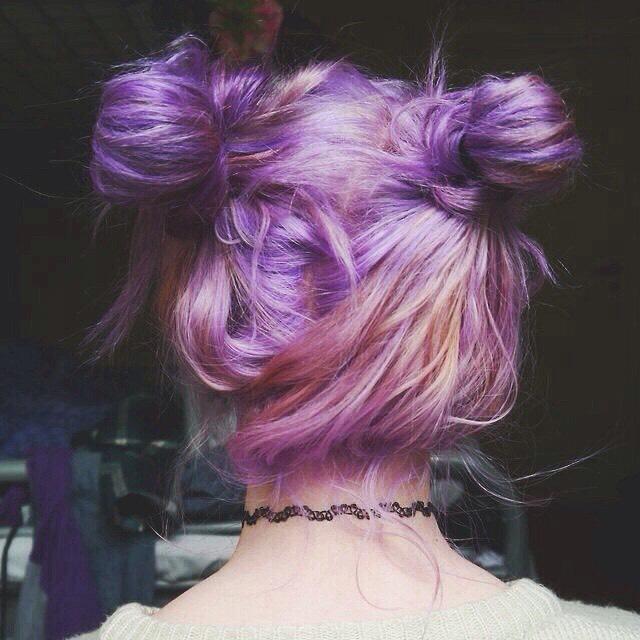 16. Grunge Pastel Hair Style Color Idea: