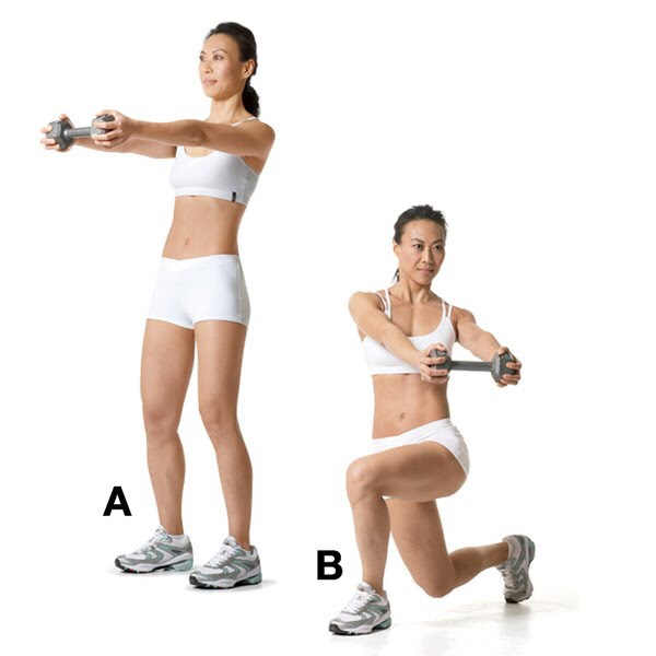 10-15 reps each leg