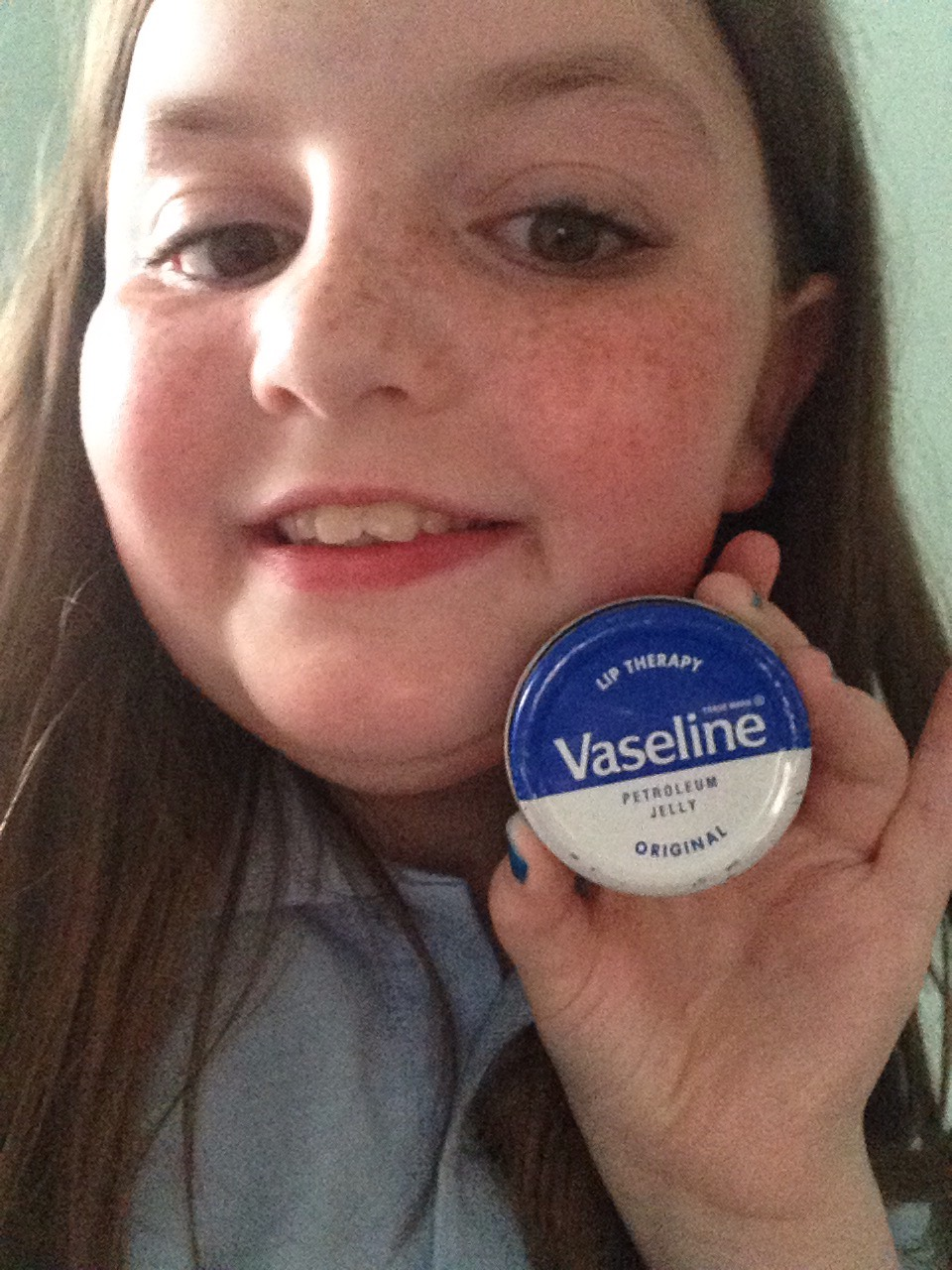 Use vasaline on you eyelashes to make them look helthier and on your lips so they are not scabby
