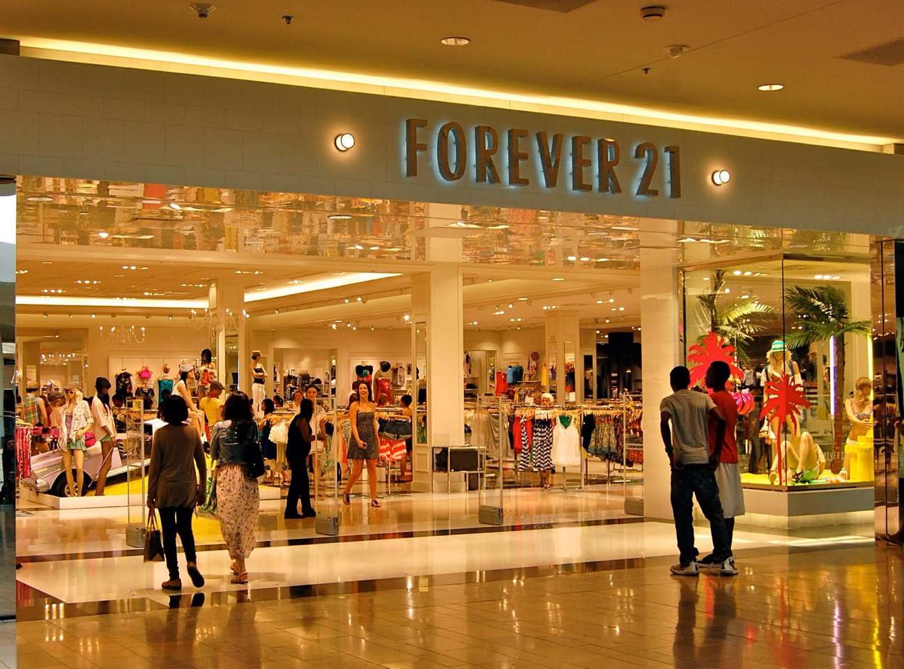 Another optional choice is forever 21, although it may cost a bit more.