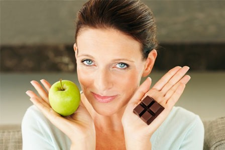 Curb your sweet tooth! Resist that chocolate and enjoy a sliced apple with a table spoon of nut butter (peanut or almond). Then sleep sweet knowing you are still on your healthy, track!