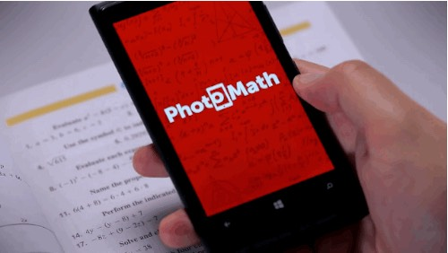 The app is called photo math it can be downloaded on android and apple devices