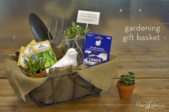 basket for the green thumb in your life