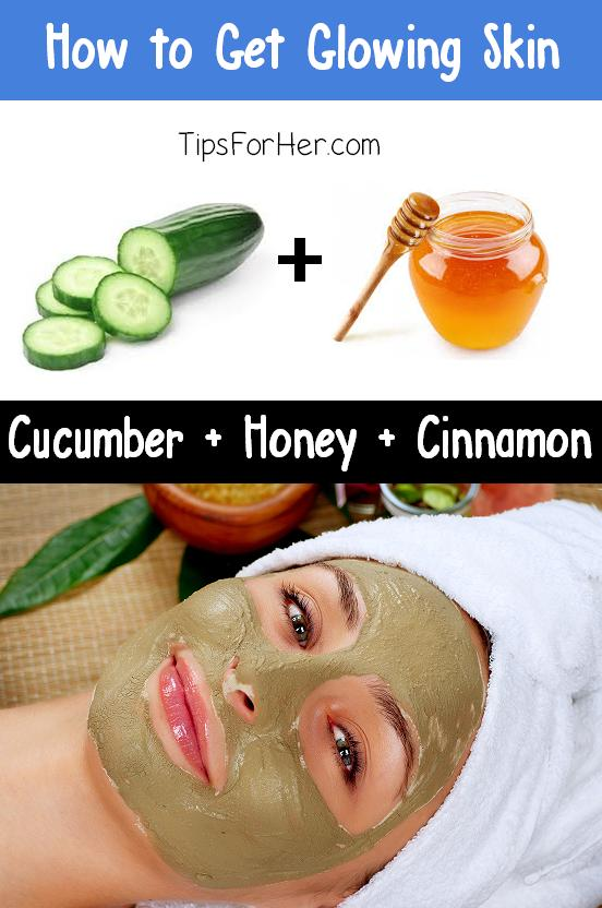 Ingredients: 2 tbsp. Apple , Cider Vinegar, 1 tbsp. Cucumber, 1 tbsp. Honey, 1 tsp. Ground Cinnamon, 1 tsp. Baking Soda. Mash the cucumber and mix until creamy.Wash face/skin, apply mixture using your fingers.Gently scrub skin using two fingers, stay 2-3min, rince off with cold water,moisterize.