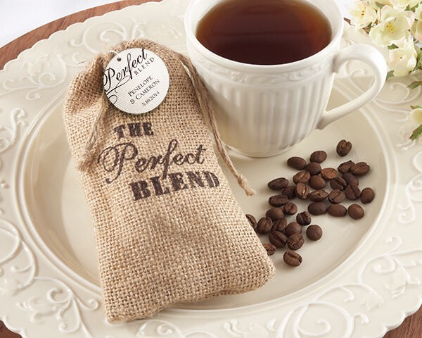 Offer coffee bags as party favor too