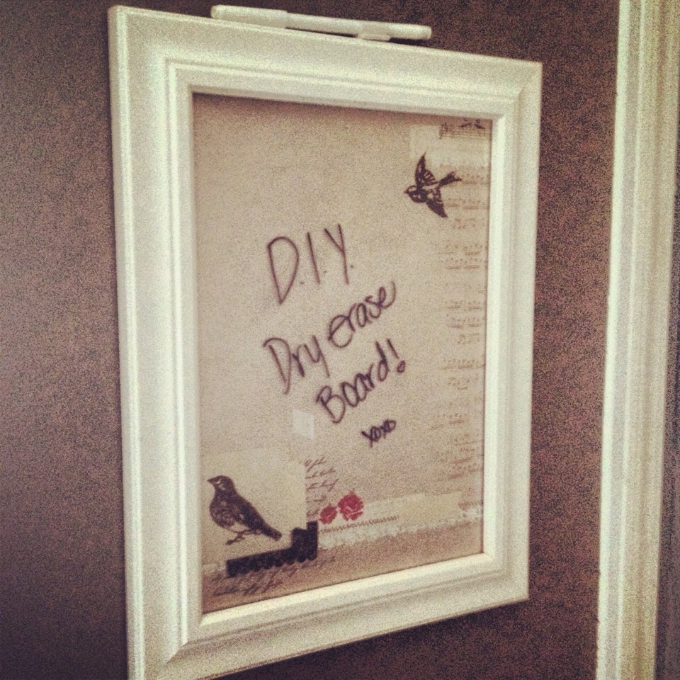 Diy Dry Erase Board By Jenna Rose Musely