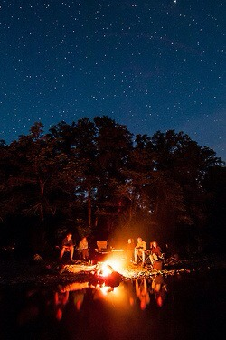 11. Campfire and watch stars