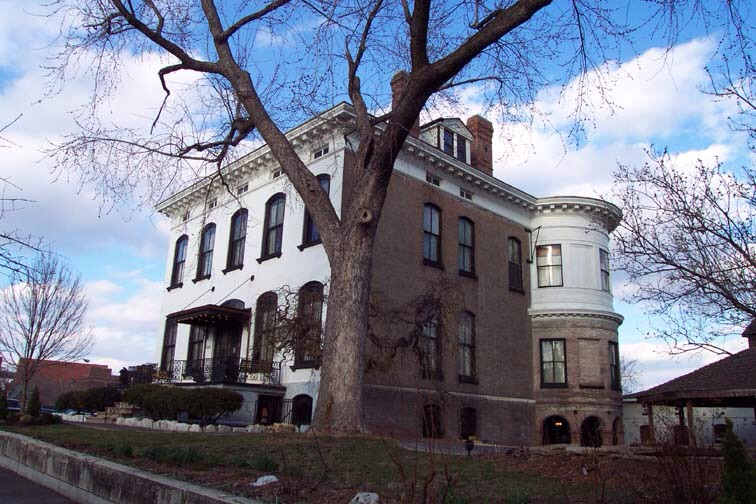 25.) Lemp Mansion, Missouri This mansion was long the home of the Lemp family a dynasty of rich St. Louis beer Brewers. The family was besieged by tragedy though as four of its members committed suiciude-- three of them in the mansion resulting in rampant poltergeist activity today