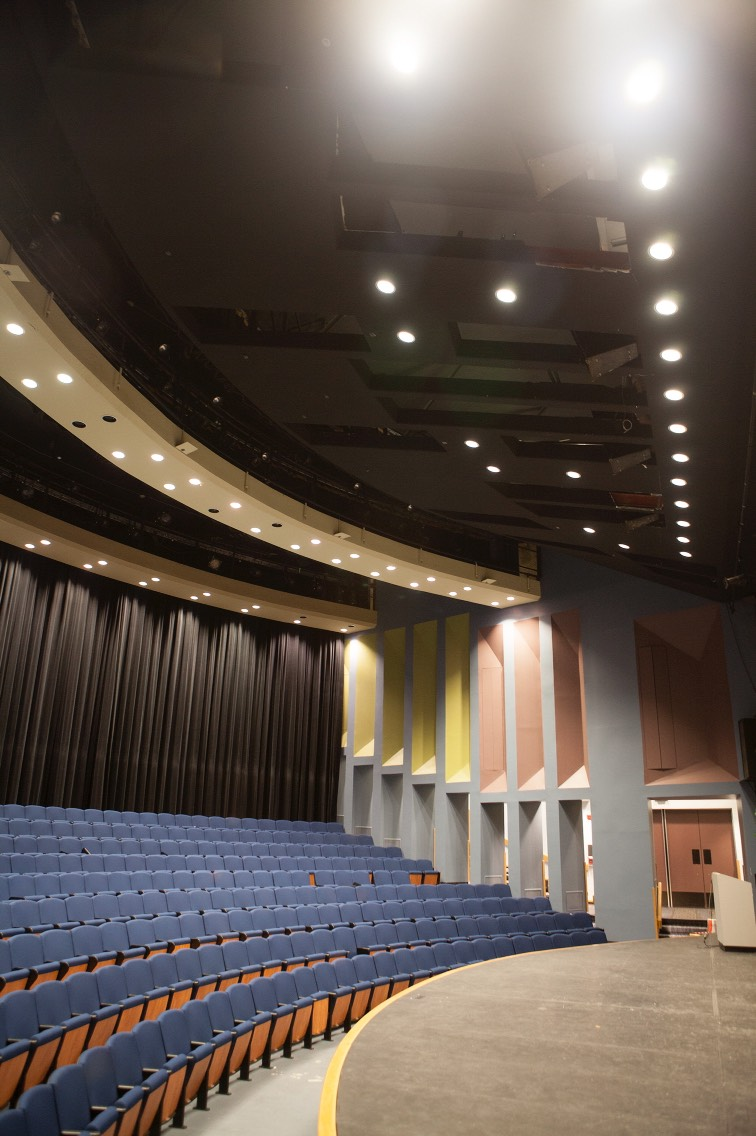 2.) UAA's Wendy Williamson Auditorium, Alaska  While it may look innocent, this auditorium has its fair share of unexplained events. Footsteps and voices are often heard, but it's the poltergeist activity that gets the attention whether it's brunettes getting shoved, or strage equipment being thrown