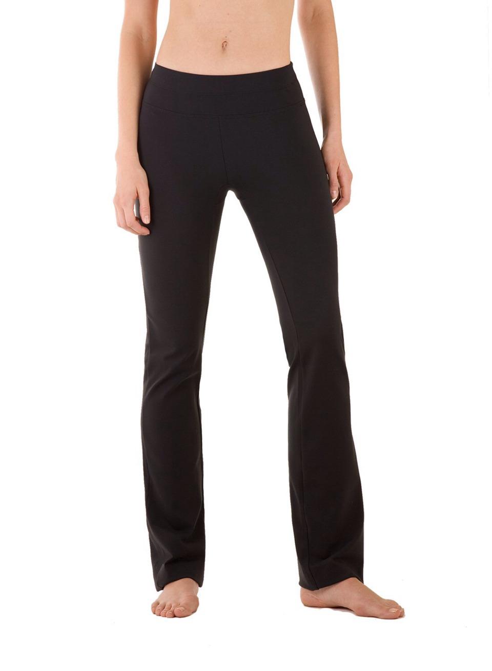 You can change the length of the yoga pants any length would look good with this!