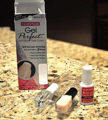 4. Give yourself a gel manicure.