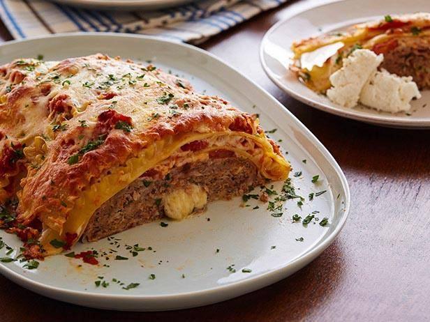 Meatloaf Lasagna