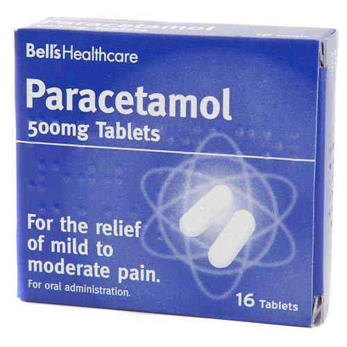 A pack of paracetamols incase of any bad headaches or stomach cramps😁