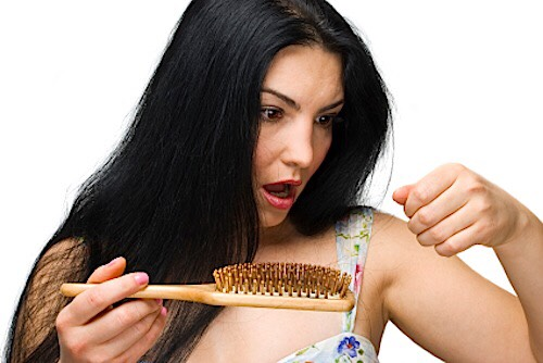 Brushing your wet hair with a hair brush is a big no no. Instead of using a brush use a comb.