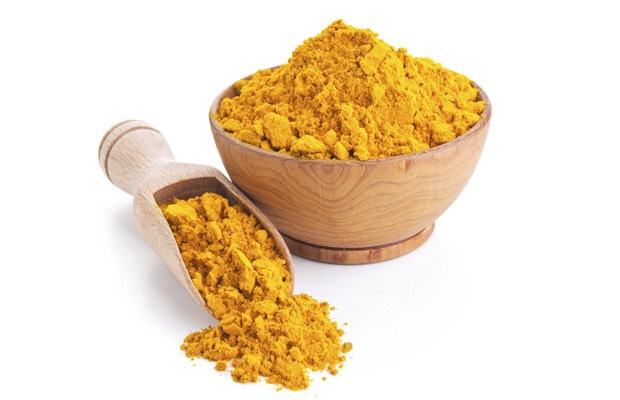 And one table spoon of organic turmeric powder.