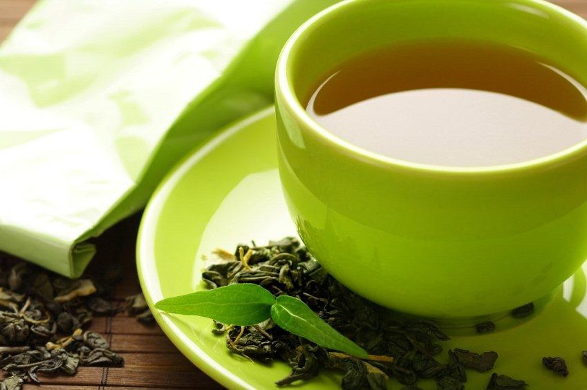 You need to drink 4 cups of green tea a day! It helps burn fat naturally!
