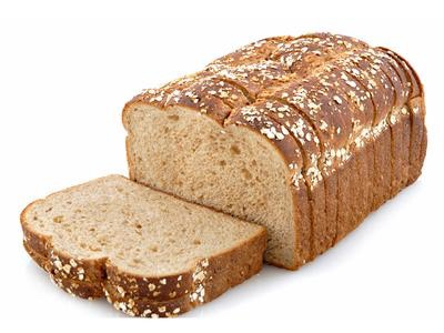 get two pieces of whole grained bread