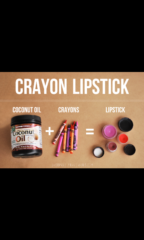 Just By using these equipment above 👆 you'll have your own diy crayon Lipstick 💜