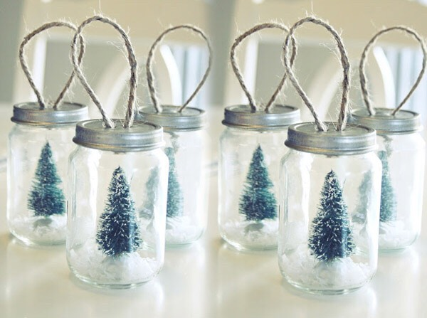 Also you can make snow globes
