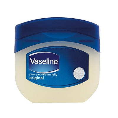 Make sure to use 100% pure petroleum jelly