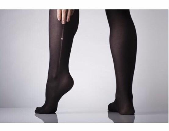 Starting to get hole in your tights? Put a dab of clear nail polish on it to make them last longer!