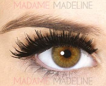 Next I apply fake lashes. Personally I don't like the look of full fake lashes so I use half lashes which I feel looks more natural.