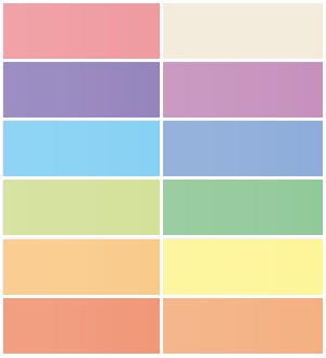 9. One of these Colours. Either paint one, or all your walls one of these colours. It's advisable to stick to pastel tones to give your room a more cozy and uplifting atmosphere.