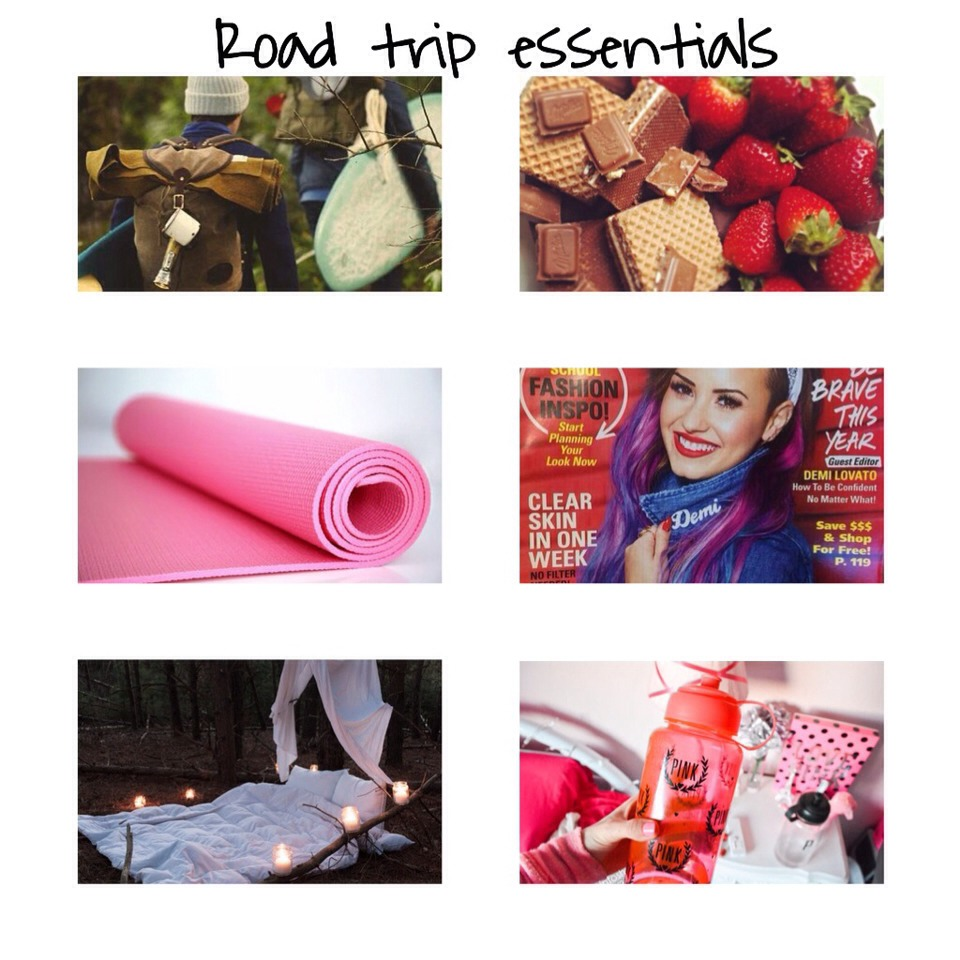 Essentials:   • A back pack to hold everything in • Snacks • A yoga mat • Magazines • A blanket • A beverage * I suggest water *  • Comfortable sneakers • An iPod and headphones  • A book