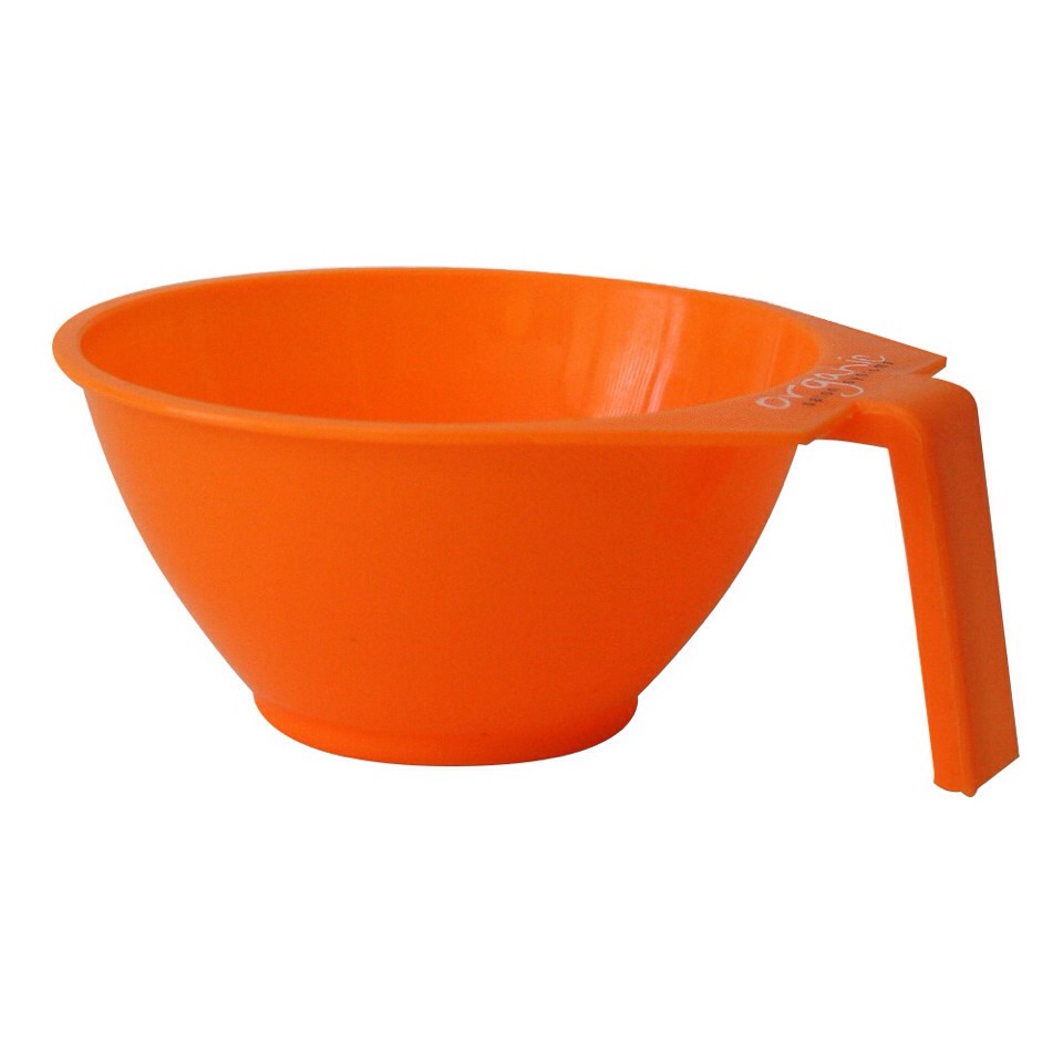 You will need a color bowl or a small plastic bowl you do not use for food (only because the chemicals are not good to eat 😜)