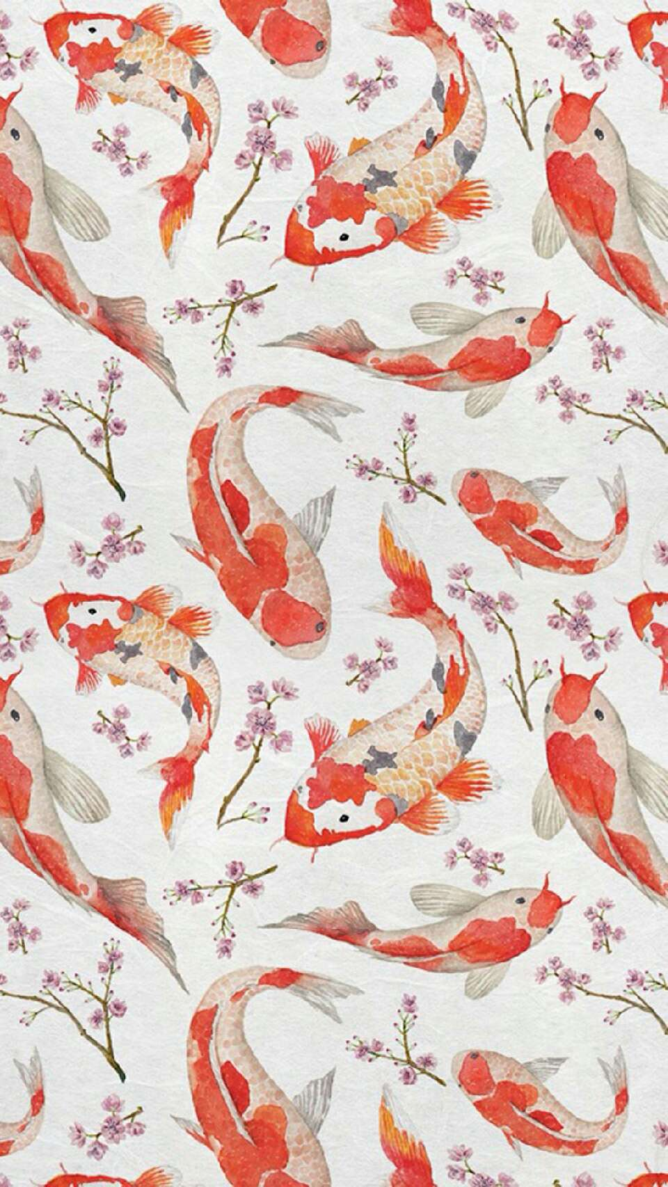 Koi fish are considered some of the most peaceful and beautiful fish, and you can imagine your own little pond