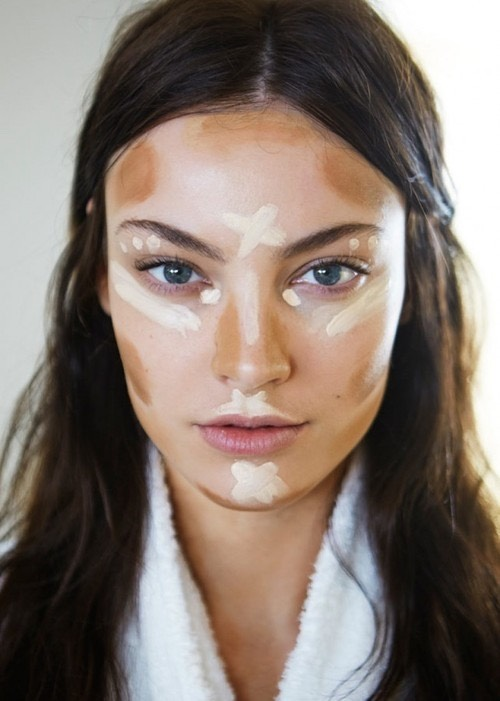 Dark contour