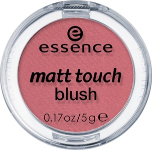 For blush I use ESSENCE MATTE TOUCH BLUSH IN 20 BERRY ME UP