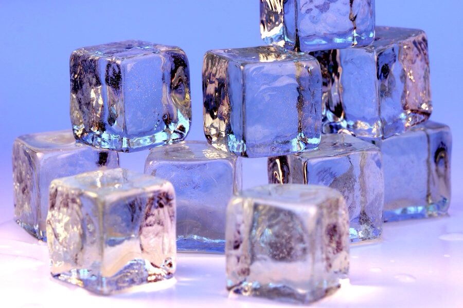 Boil the water before freezing it for clear ice cubes!