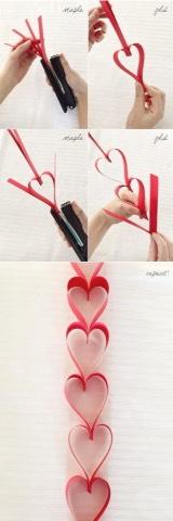 DIY heart craft