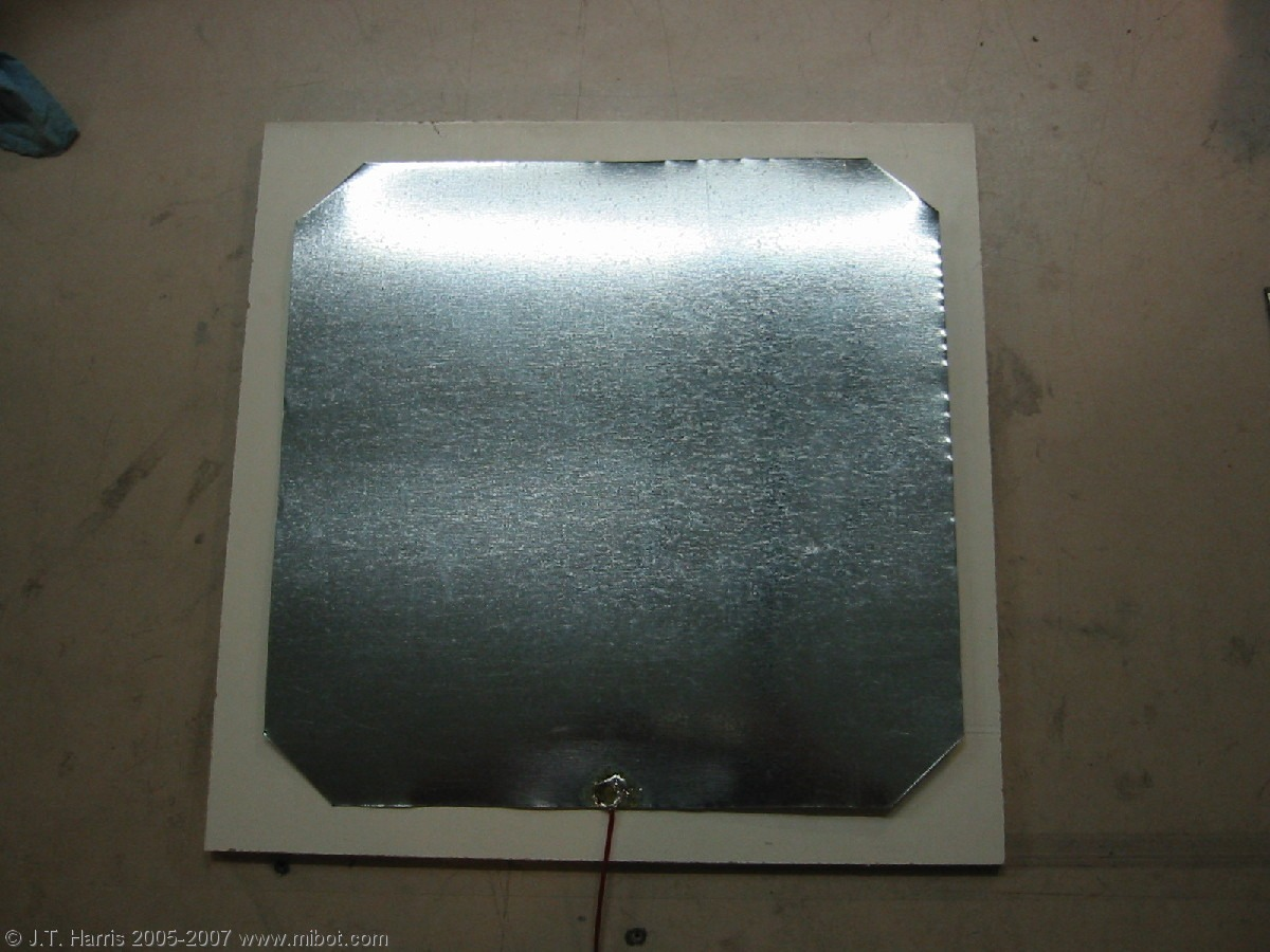 Then you use a simple sheet metal like this and super glue it onto your picture frame.