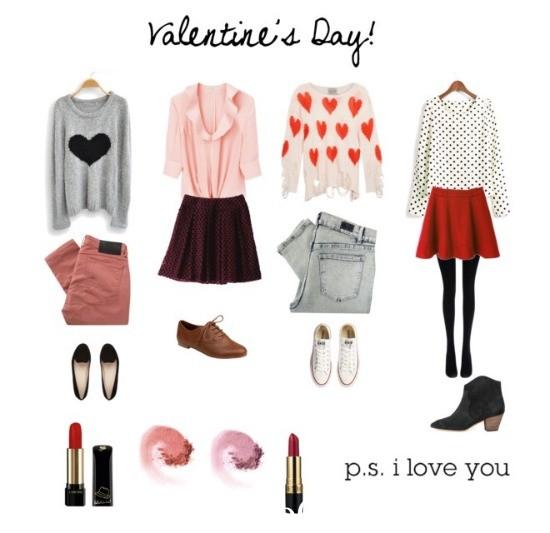 Toll Cute Valentineu0027s Day Outfits U0026 Make Up👗👠🎀💄