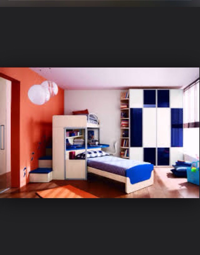 I like this one because it has a bunk bed on top with stairs! Instead of a ladder! 😄