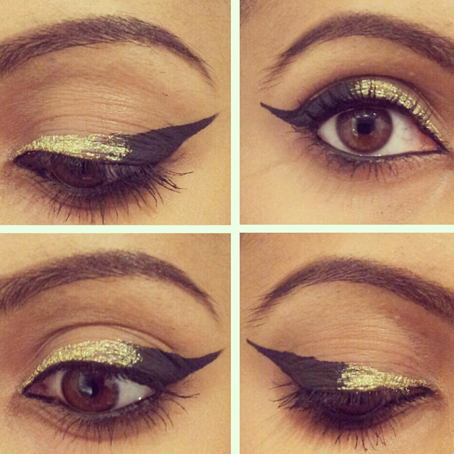 Musely glamorous gold eye makeup tutorial baditri Images