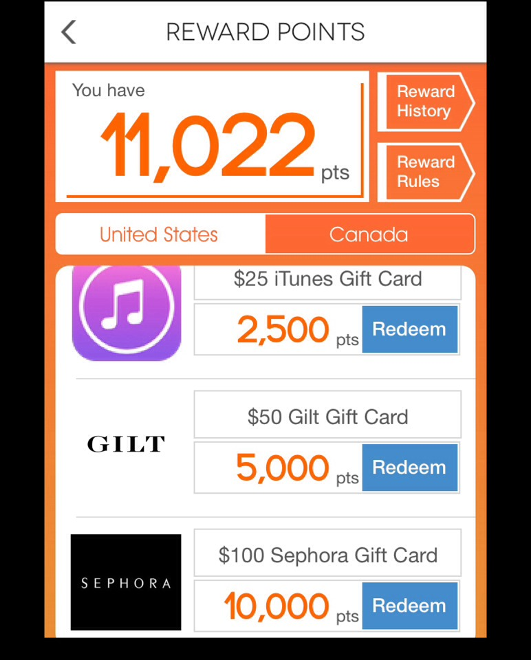 Here are just SOME of the amazing gift vouchers on offer! You can even earn an amazing trip to Las Vegas! All expenses paid! So get tipping! Select United States or Canada depending on where you are in the world as well!